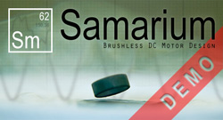 Samarium demo splash screen